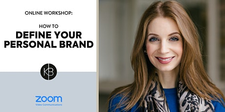 How to Define Your Personal Brand tickets