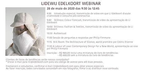 Webinar Li Edelkoort bilhetes