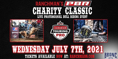 Ranchman's PBR Charity Bull Riding - Wednesday July 7th, 2021 tickets