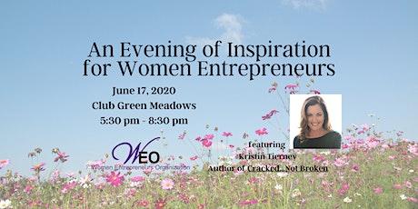 Women Entrepreneurs Org June 2020 - An Evening of Inspiration For Women Entrepreneurs  tickets