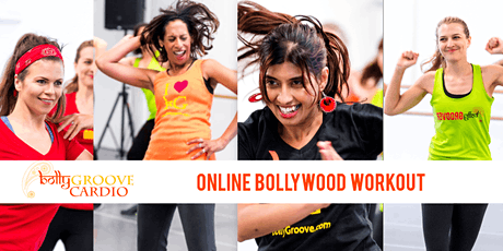 WORKOUTS 2x WEEKLY: BollyGroove Cardio. SWEAT. SMILE. GROOVE tickets