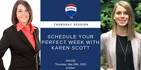 Thursday Session: Schedule Your Perfect Week with Karen Scott tickets