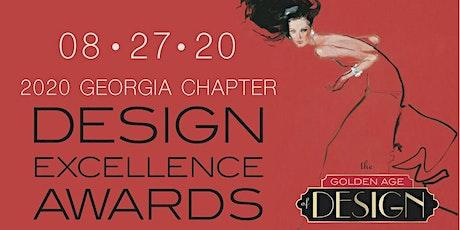 SPONSORSHIP 2020 Design Excellence Awards | Golden Age of Design tickets