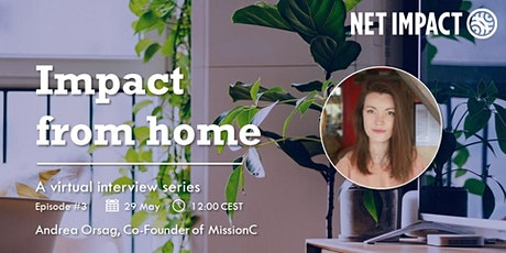 Impact from Home | Episode #3 with Andrea Orsag tickets