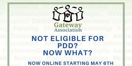 Not PDD Eligible? Now What? tickets