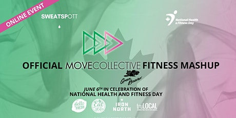Virtual Fitness Mashup - National Health and Fitness Day tickets