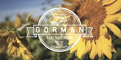 Gorman Farm Self Guided Tour ADMISSION tickets