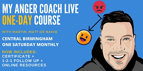 Anger Management One Day Intensive with Certificate tickets