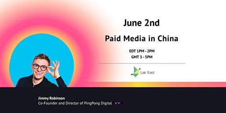 Paid Media in China tickets