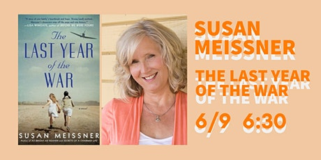 Join us on Zoom with Author Susan Meissner tickets
