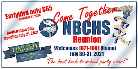NBCHS Come Together Reunion 2021 tickets