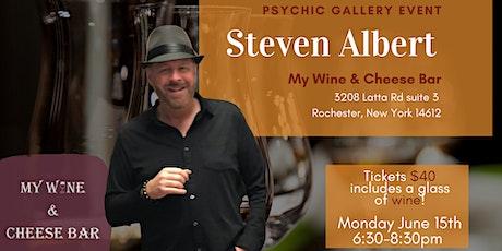 Steven Albert: Psychic Gallery Event My Wine tickets