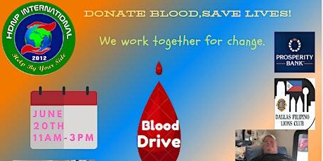 HDNP Blood Drive tickets