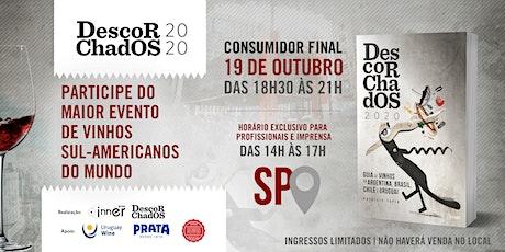 DEGUSTAÇÃO  de lançamento - GUIA DESCORCHADOS 2020  - São Paulo ingressos