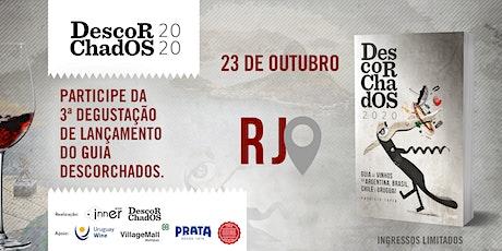 DEGUSTAÇÃO  de lançamento - GUIA DESCORCHADOS 2020  - RIO DE JANEIRO ingressos