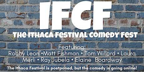 Ithaca Festival Comedy Festival:  Covid - 22 tickets