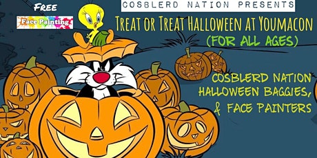 "Cosblerd Nation Presents"" Treat or Treat Halloween giveaway at Youmacon tickets"