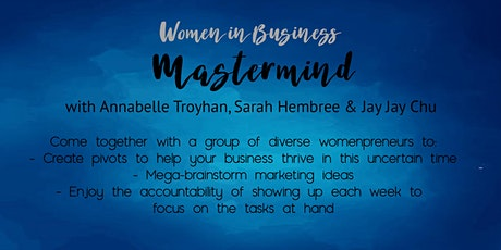 Women in Business May Mastermind Tickets