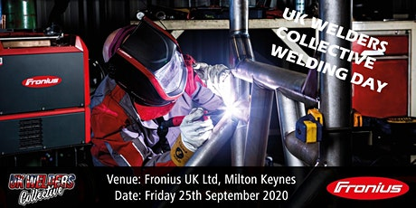 Fronius UK Ltd & UK Welders Collective Welding Day tickets