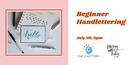 Beginner Handlettering tickets