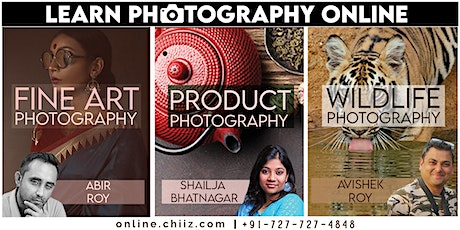 ONLINE PHOTOGRAPHY WORKSHOP tickets