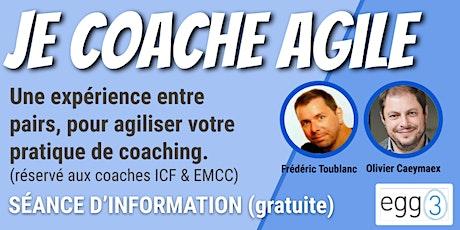 Je coache Agile (séance d'information) billets