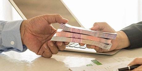 Offre de prêt d'argent à 3 % de taux d'intérêt billets