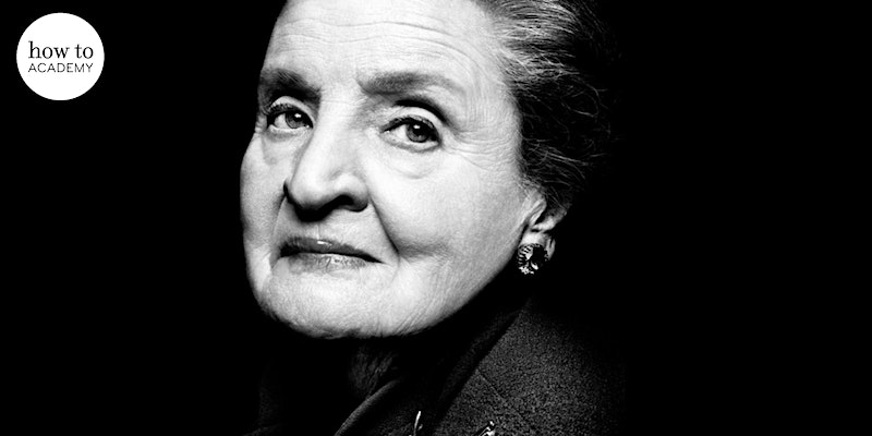 An Evening with Madeleine Albright   In Conversation with Hannah MacInnes