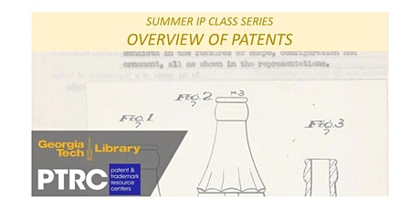 Introductory Patent Class: Overview of Patents tickets