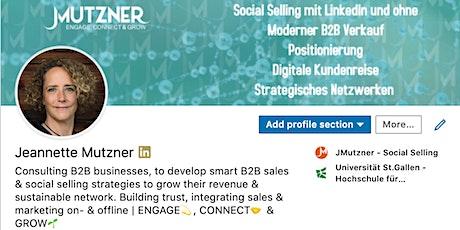 Das persönliche LinkedIn Profil - Funktionen, Grundlagen, Tipps & Tricks Tickets