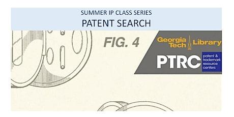 Intermediate Patent Class: Patent Search tickets