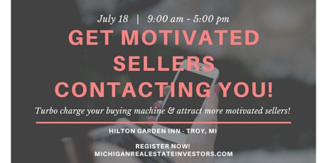 Get Motivated Sellers Contacting You with Kathy Kennebrook tickets
