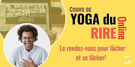 Yoga du Rire en ligne billets