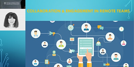 Collaboration and Engagement in Remote Teams (Managing self and others when working remotely) tickets