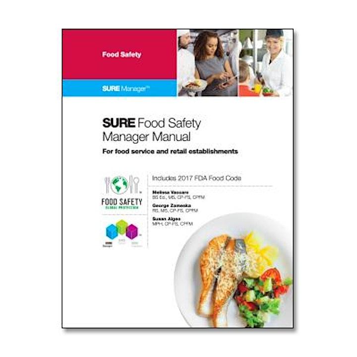 SURE™ Food Safety Manager Instructor-Led  Livestream Course image