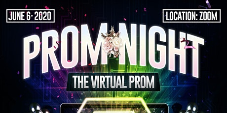 """""""Prom Night"""" - The Virtual Party tickets"""