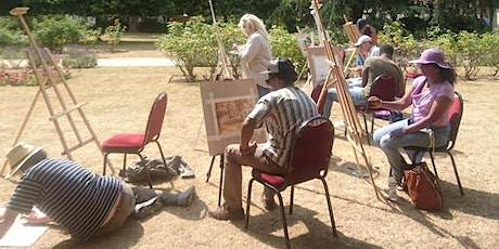 Post Covid 19 Outdoor creativity release !Meditation in Action!Best outdoor painting classes in town! tickets