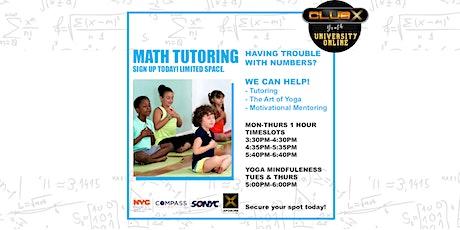 Math Integrated Tutoring  tickets