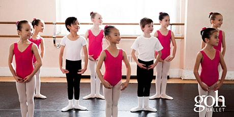 Get Up and Goh Dance: Free Children's Livestream Ballet Classes tickets