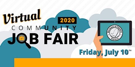 2020 Virtual Community Job Fair tickets