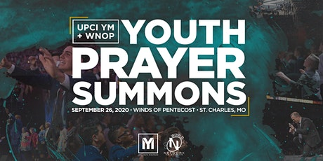 UPCI YM + WNOP Youth Prayer Summons tickets