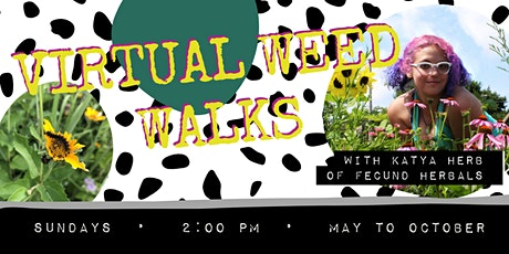 Virtual Weed Walks with Katya Herb of Fecund Herbals tickets
