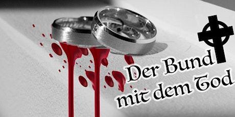 """Schnüffel-Kriminalfall """"Bund mit dem Tod"""" am 30.05.2020 Tickets"""