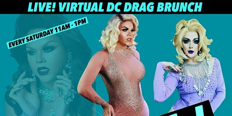 Washington DC Drag Brunch LIVE Online 2 tickets