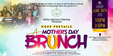 HOPE PREVAILS-A Mother's Day Brunch tickets