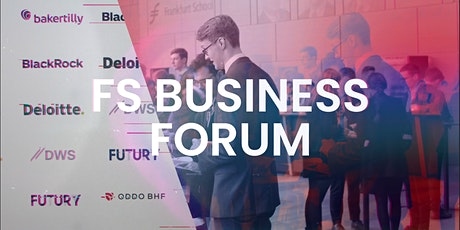 Frankfurt School Business Forum 2020 tickets