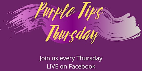 Purple Tip Thursday tickets