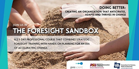 Foresight Sandbox: Creating organizations that anticipate & adapt to change tickets