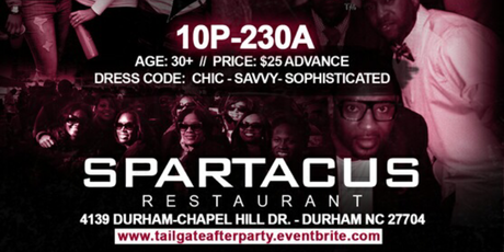 N.C.C.U. Homecoming Tailgate Afterparty