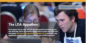 Διαγωνισμός LDA Appathon για ανάπτυξη εφαρμογών με χρήση δορυφορικών και γεωχωρικών δεδομένων